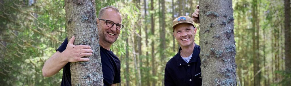 Andreas Sture och Torbjörn Eliasson är designers på White