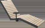Solsäng för utomhusmiljö Line